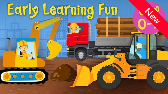 Construction Vehicles   Numbers & Sou...