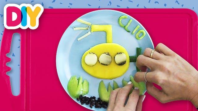 Yellow Submarine | Mango Snack