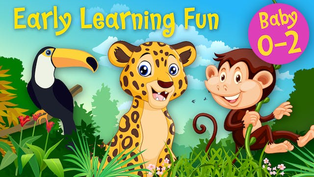 Jungle Animals Vol.2 | Early Learning...