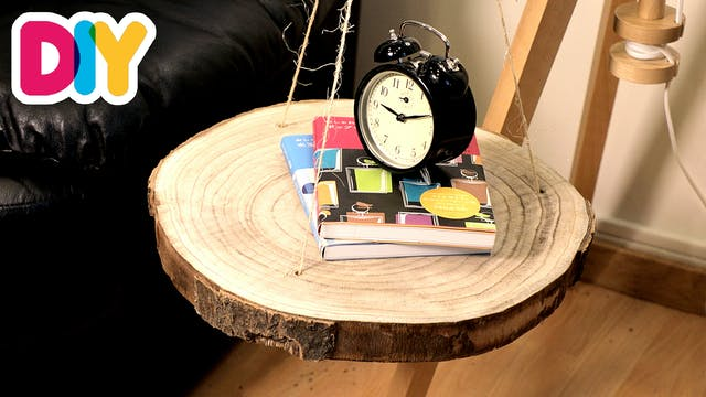 Hanging Side Table | Wood Craft