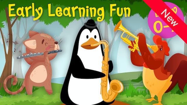 Wind Instruments | Animals & Sounds V...