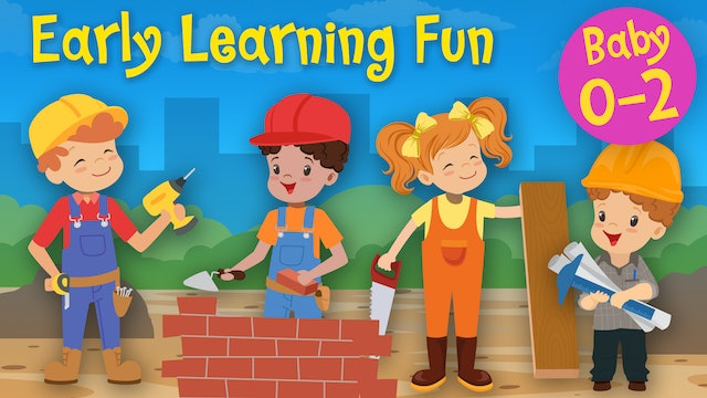 Builders | Jobs and Professions Vol. 1 | Early Learning Fun