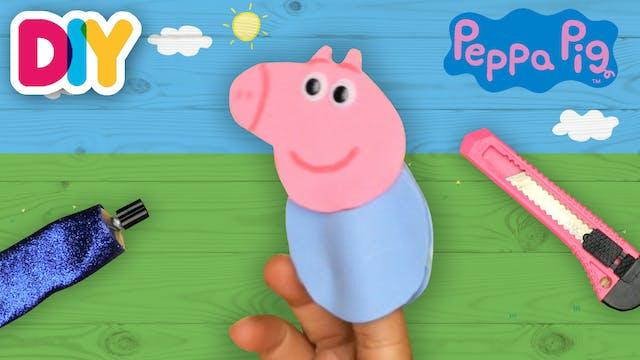 Peppa Pig Finger Puppet   Paper Craft