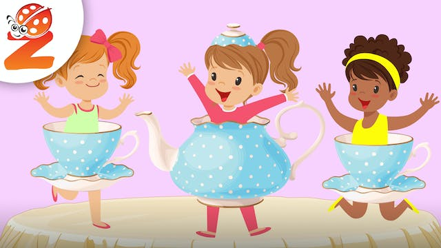 I'm a Little Teapot | Animated Songs