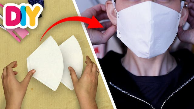 Coffee Filter Mask   Paper Craft