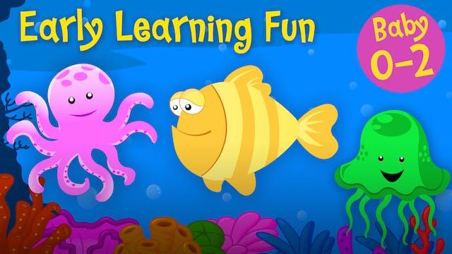 Sea Animals Vol.1 | Early Learning Fun