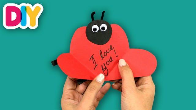 Ladybug Card | Paper Craft