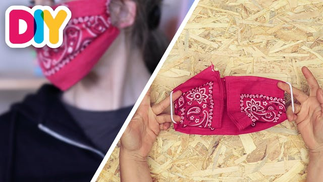 Easy Bandana Mask   Cloth Craft
