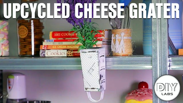Upcycled Cheese Grater