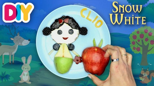 Snow White | Dinkel Bread & Yogurt Snack