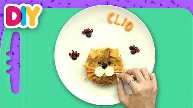 Cat | Pumpkin Pie Snack