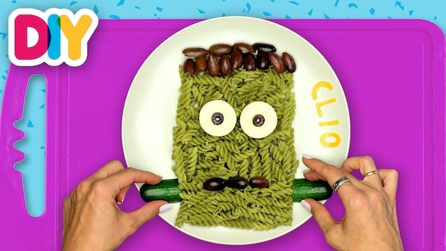 Frankenstein | Pea Pasta Lunch