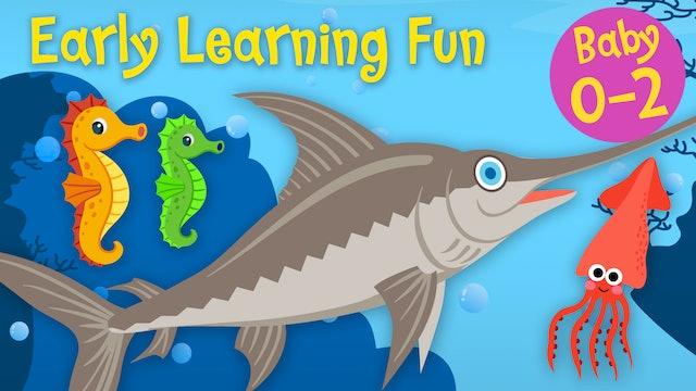 Sea Animals Vol.3 | Early Learning Fun