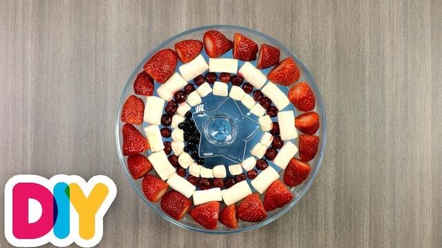Captain America | Fruit Plate
