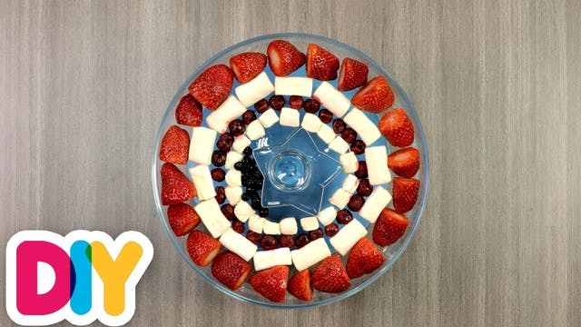 Captain America   Fruit Plate
