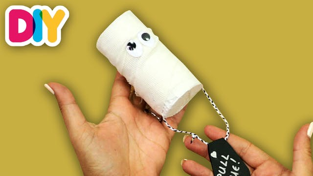 Mummy Piniata   Paper Roll Craft