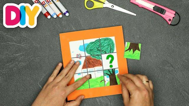 Cardboard Puzzle | Paper Craft