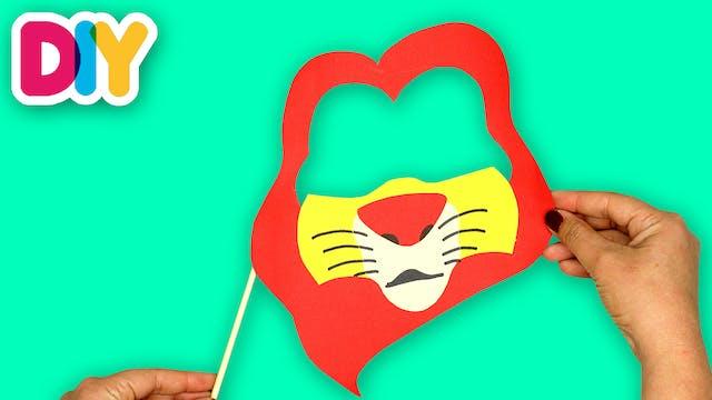 Mufasa Mask   Paper Craft