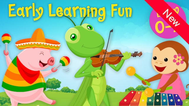 Musical Instruments | Animals & Sounds Vol. 2 | Early Learning Fun