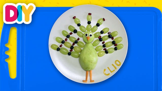 Peacock | Fruit snack