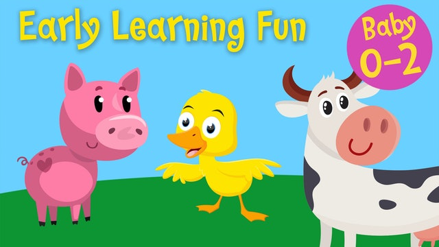Farm Animals and their Sounds | Early Learning Fun