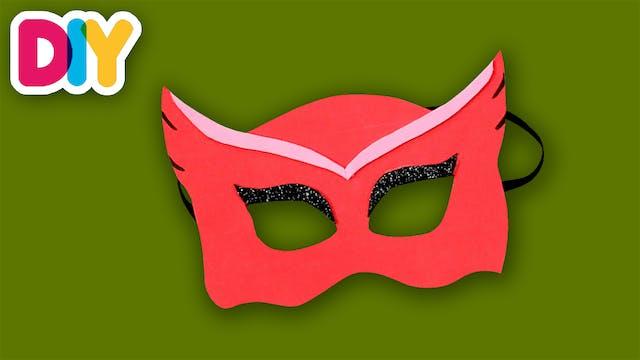PJ MASKS Owlette | Paper Craft