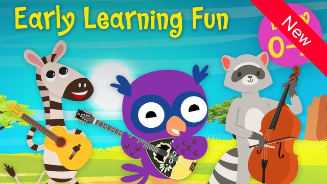 Stringed Instruments | Animals & Sounds Vol. 1 | Early Learning Fun