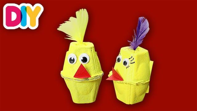 Chicken | Egg Carton Craft