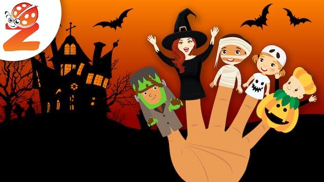 Finger Family | Halloween Version | A...