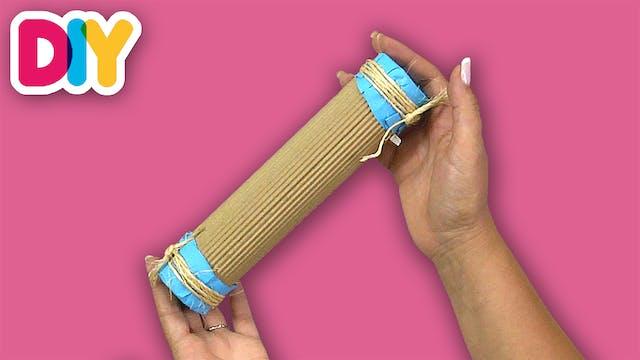 Rain Stick   Paper Roll Craft