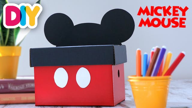 Mickey Mouse Box | Paper Craft