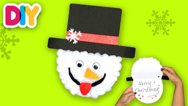 Snowman Xmas Card | Paper Craft