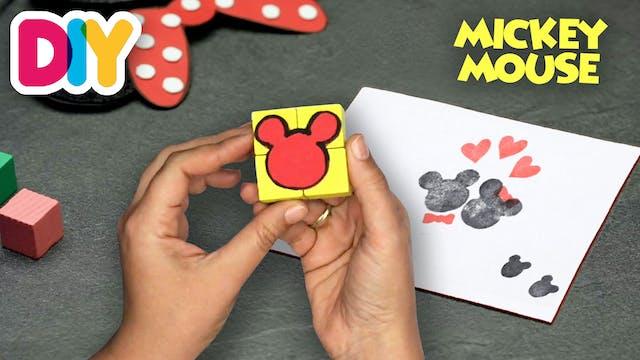 Mickey Stamp | Paper Craft