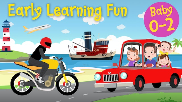 Means of Transportation Vol.1 | Early Learning Fun