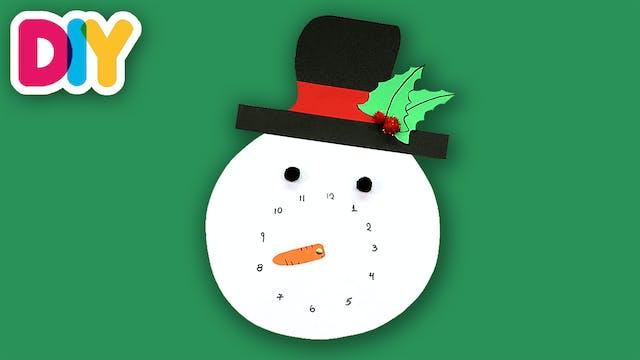 Snowman Countdown to Christmas | Pape...