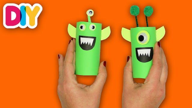Alien | Paper Roll Craft