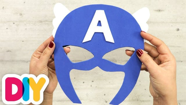 Captain America Mask | Paper Craft