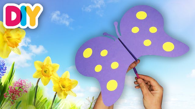 Moving Butterfly   Paper Craft