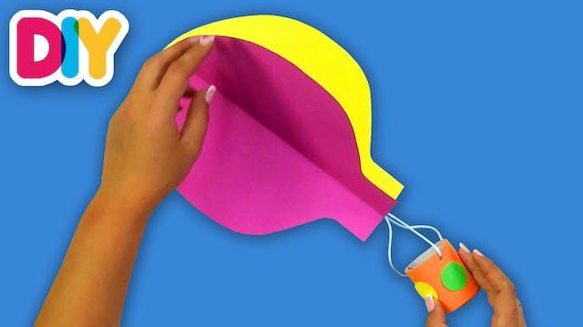 Hot Air Balloon | Craft for Kids