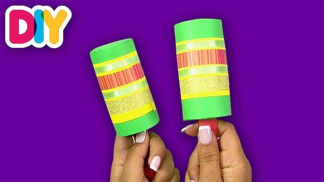 Maracas | Paper Roll Crafts