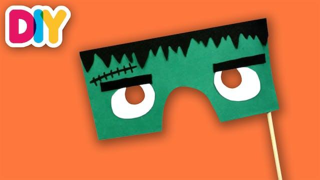 Frankenstein Mask | Halloween Paper C...