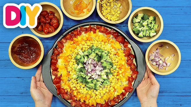 Rainbow | Pizza