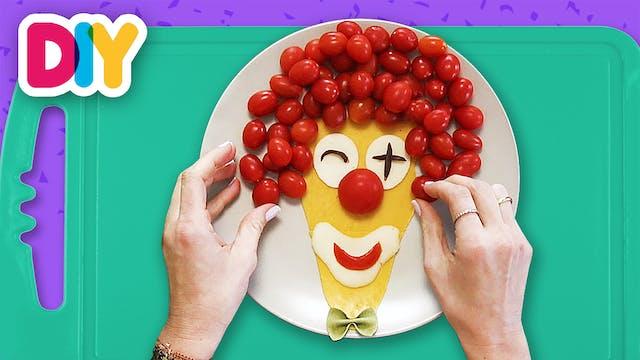 Clown | Cheese & Cherry Tomatoes