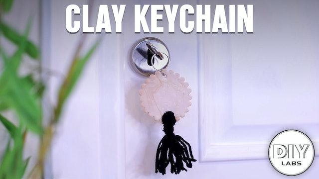 Clay Keychain