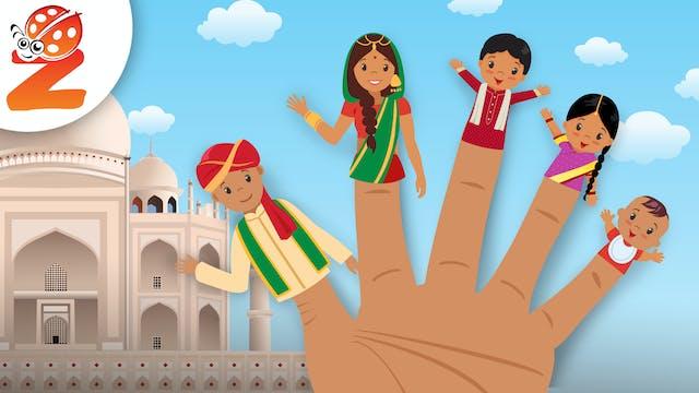 Finger Family | India Version | Anima...