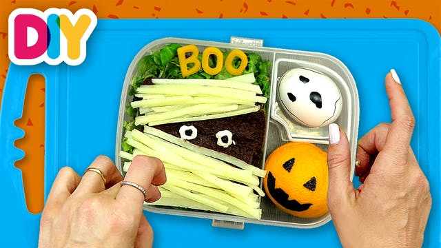Halloween Mummy Snack | Bento Box