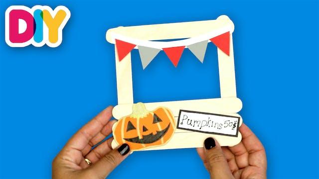 Pumpkin Patch Magnet | Popsicle Stick...