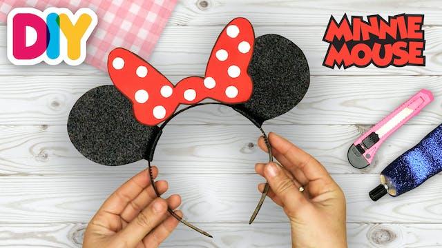 Minnie Mouse Headband | Paper Craft