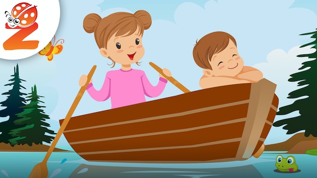 Row Your Boat | Animated Songs
