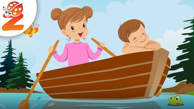 Row Your Boat   Animated Songs
